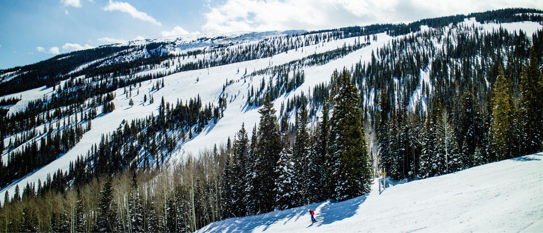 Spring skiing in Aspen