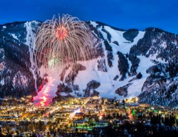 Aspen Mountain New Year's Eve fireworks