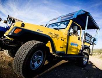 A modified Jeep for Aspen jeep tours