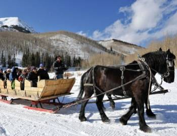 Sleigh Ride to Pine Creek Cookhouse