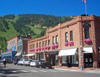 Downtown Aspen shops
