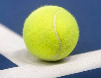 Tennis Ball in Aspen
