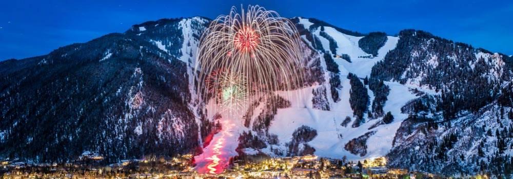 Aspen Mountain New Year's Eve fireworks