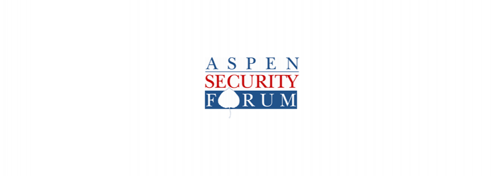 Aspen Security Forum logo as a banner